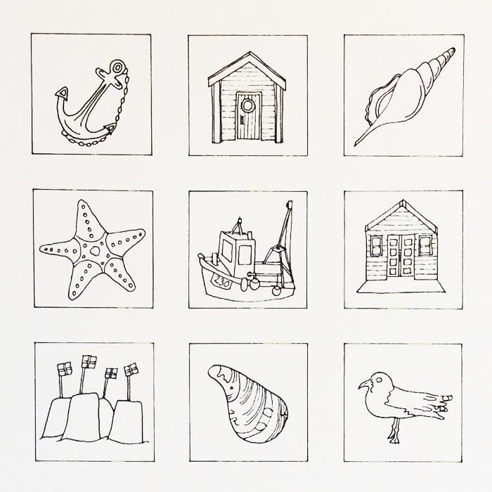 Line Drawing Beach : The beach collection line drawing alison collins